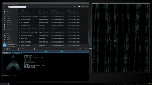 The ArchLinux setup on my desktop machine